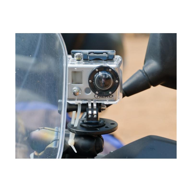 ram mount basisplatte mit gewindestift f r kameras b kugel 1 z. Black Bedroom Furniture Sets. Home Design Ideas