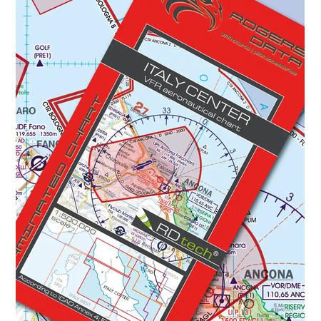 Italien Karte Lampedusa.Italien Center Vfr Karte Rogers Data