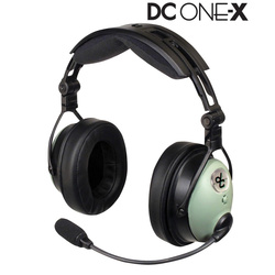 David Clark ONE-X Headset - with Twin Plugs (GA)