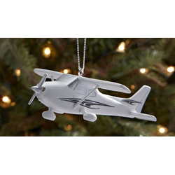 Cessna 172 Christmas Ornament