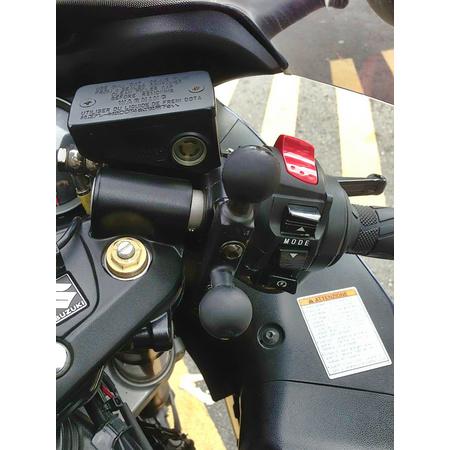 """Motorrad Kupplung Lenker Halterung Bremse mit 1 /""""Ball für RAM-B-309-7 Anpassung"""