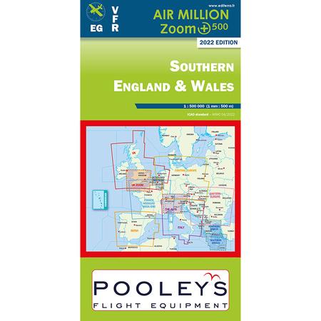 Sudengland Und Wales Air Million Zoom Karte Vfr 22 90 Chf