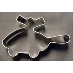 Tin Cookie Cutter - Helicopter