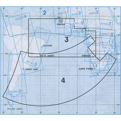 Jeppesen Atlantic Orientation Chart AT(H/L) 3/4