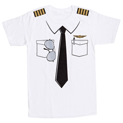 Piloten Uniform T-Shirt Kinder S