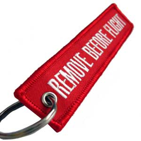 REMOVE BEFORE FLIGHT OEM Keychain Fob Keyings Special