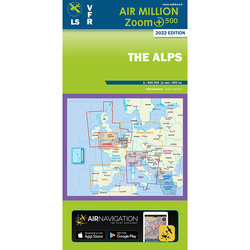 Alpen Air Million ZOOM 1:500.000 Karte VFR