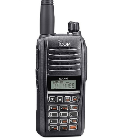 ICOM Aviation Radio Handheld IC-A16E (#12) with Bluetooth