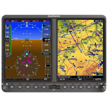 Mousepad Garmin GPS with swiss map