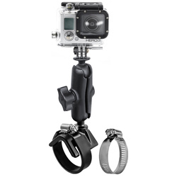 RAM Mount Roll Bar with Custom GoPro® HERO Adapter