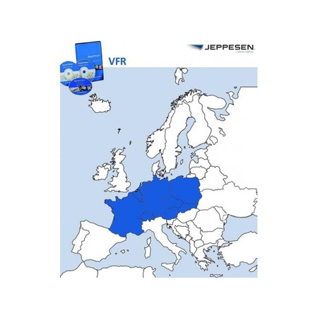 JeppView VFR: Central Europe 1 Jahr Abonnement