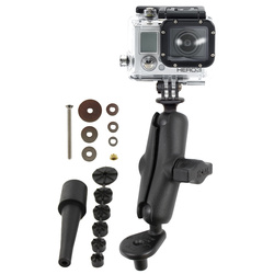 RAM Fork Stem Mount and 1 Diameter Ball with Custom GoPro...