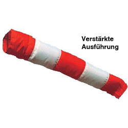 Windsock Sleeve red-white 60 cm diameter reinforced version