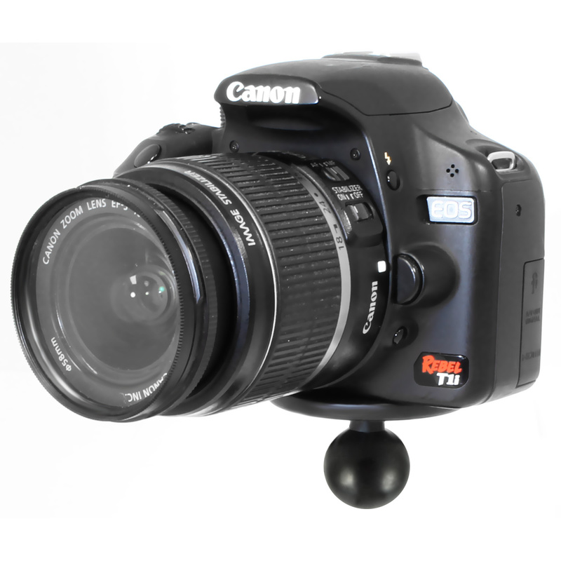 ram mount basisplatte mit gewindestift f r kameras b kugel 1 zoll chf. Black Bedroom Furniture Sets. Home Design Ideas