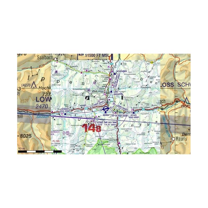 Karte Süddeutschland österreich Schweiz.Flight Planner Sky Map Trip Kit Deutschland österreich Schweiz Icao Karten U Aip