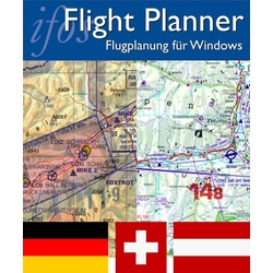 Flight Planner / Sky-Map - Trip-Kit Germany, Austria,...