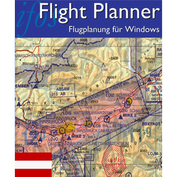 Flight Planner / Sky-Map - DFS Visual 500 Österreich