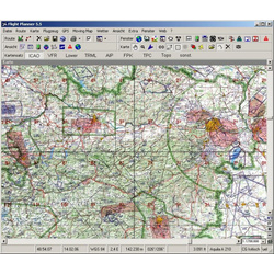 Flight Planner / Sky-Map - DFS Visual 500 Dänemark
