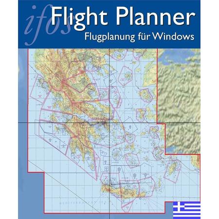 Karte Griechenland.Flight Planner Sky Map Gam Vfr Karte Griechenland 1 500 000