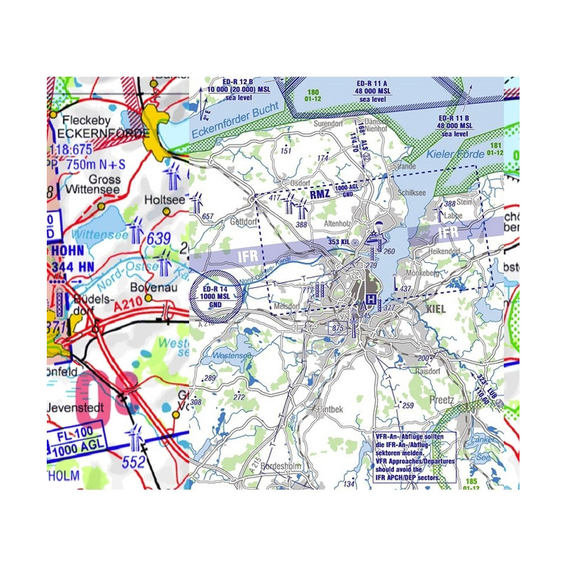 Flight Planner / Sky-Map - Trip-Kit Germany (ICAO Charts and AIP)