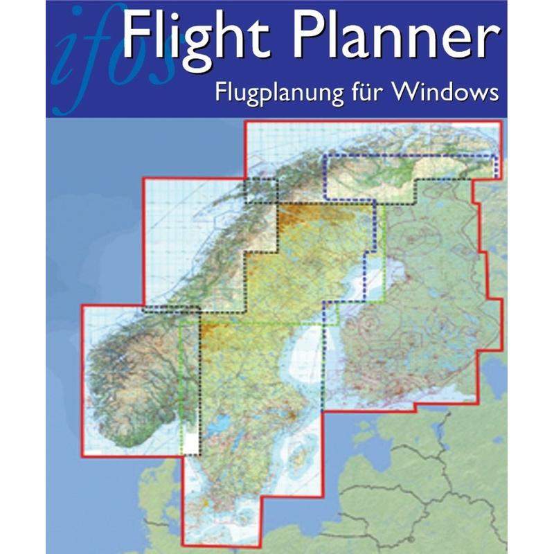 Karte Norwegen Schweden.Flight Planner Sky Map Kartenpaket Skandinavien Finnland Norwegen Schweden