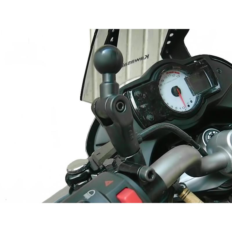 ram mount basis mit b kugel 1 zoll f r motorrad spiegel. Black Bedroom Furniture Sets. Home Design Ideas