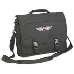 ASA - Flight Briefcase (Pilotentasche), schwarz