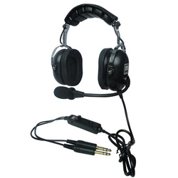 UFQ - PNR Aviation Headset P2 Stereo Twin Plug PJ-Stecker