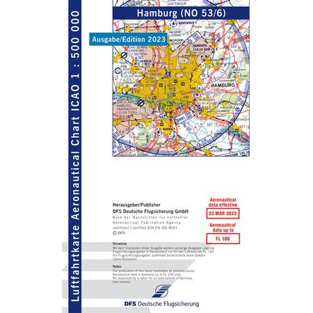 vfr karte deutschland Deutschland Hamburg VFR Karte ICAO 1:500000 jetzt kaufen, 12.80 CHF