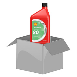 AeroShell Oil 80, 1 AQ Bottle