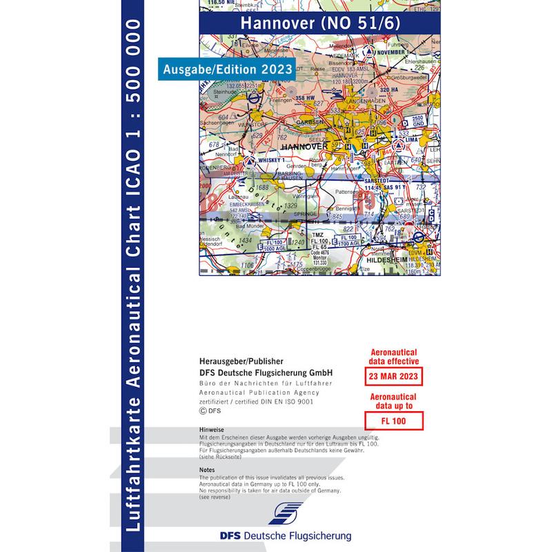 Carte Allemagne Hannover.Allemagne Hannover Carte Vfr Oaci