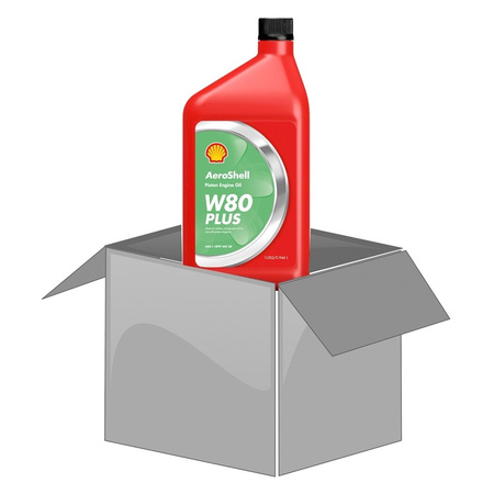 AeroShell Oil W80PLUS (1 Quart Flasche)