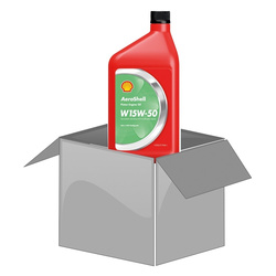 AeroShell Oil W 15W-50, 1 AQ Bottle