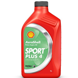 AeroShell Oil Sport PLUS 4, 1 Liter Bottle