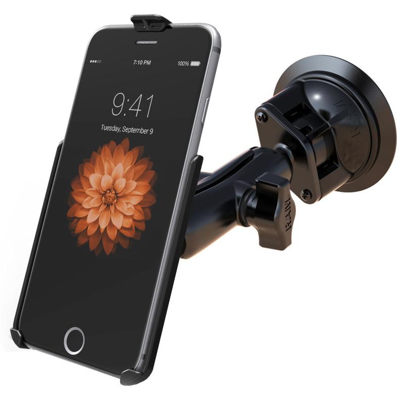 iphone 6 plus halterung mittel mit saugnapf chf. Black Bedroom Furniture Sets. Home Design Ideas