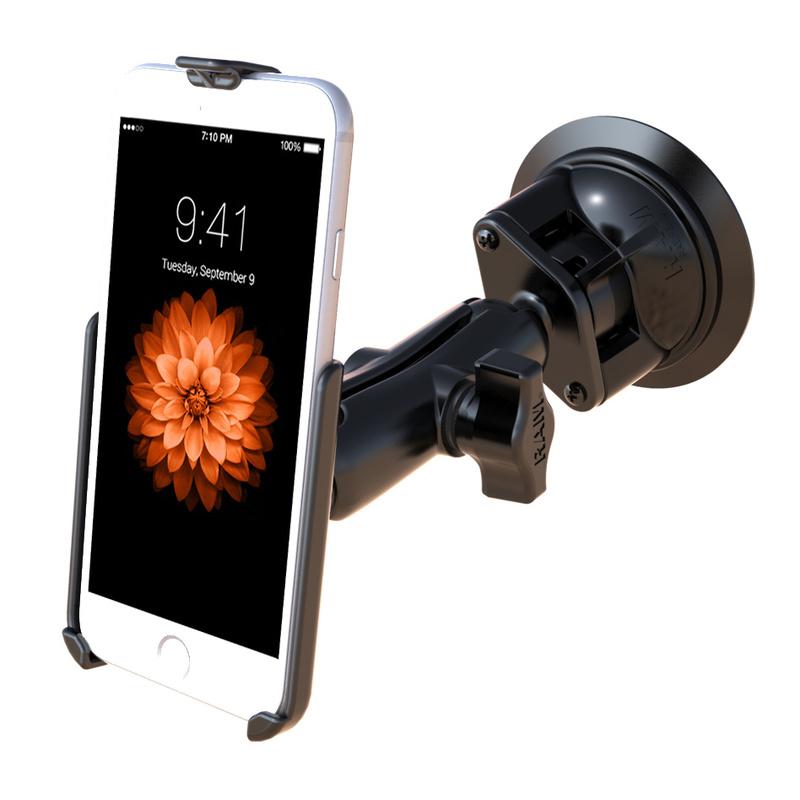 iphone 6 halterung mittel mit saugnapf chf. Black Bedroom Furniture Sets. Home Design Ideas