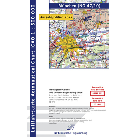 Germany Munich ICAO Chart