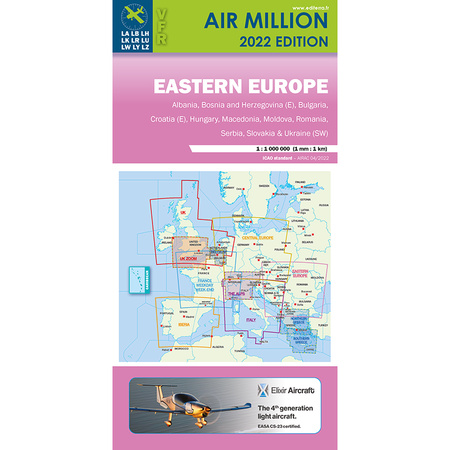 Karte Von Europa 2019.Ost Europa Air Million Karte Vfr